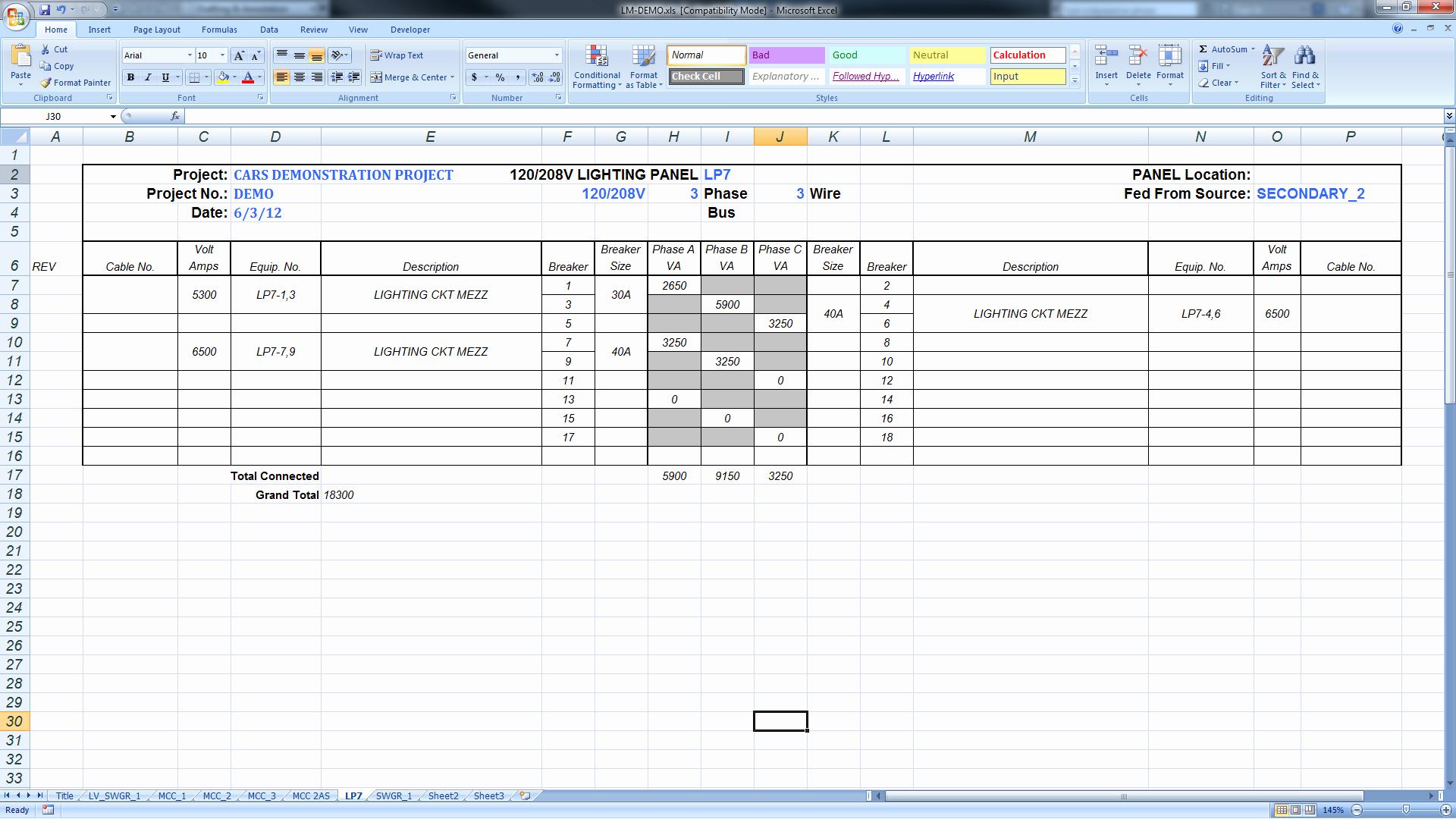Panel Schedule Template Excel Beautiful Export Panel Schedules to Excel – Bimarabia