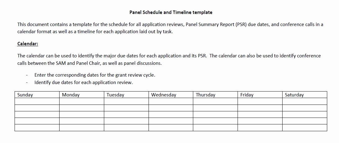 Panel Schedule Template Excel Luxury 5 Free Panel Schedule Templates In Ms Word and Ms Excel