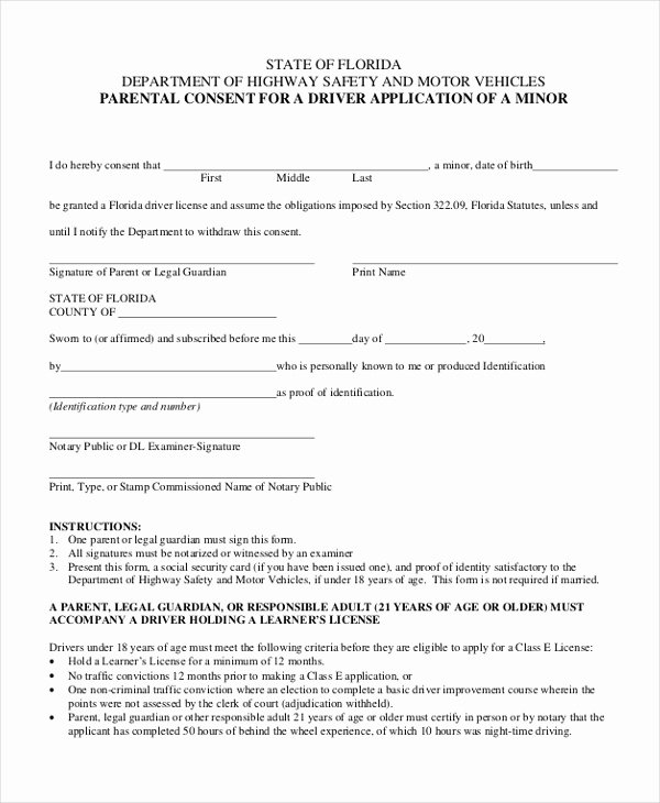 Parent Release form Template Beautiful Free 10 Sample Parental Consent forms In Pdf