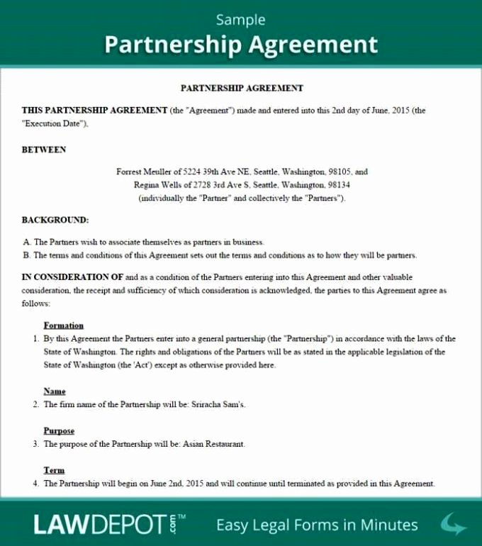 Partnership Buyout Agreement Template Inspirational Partnership Buyout Agreement Template Sampletemplatess