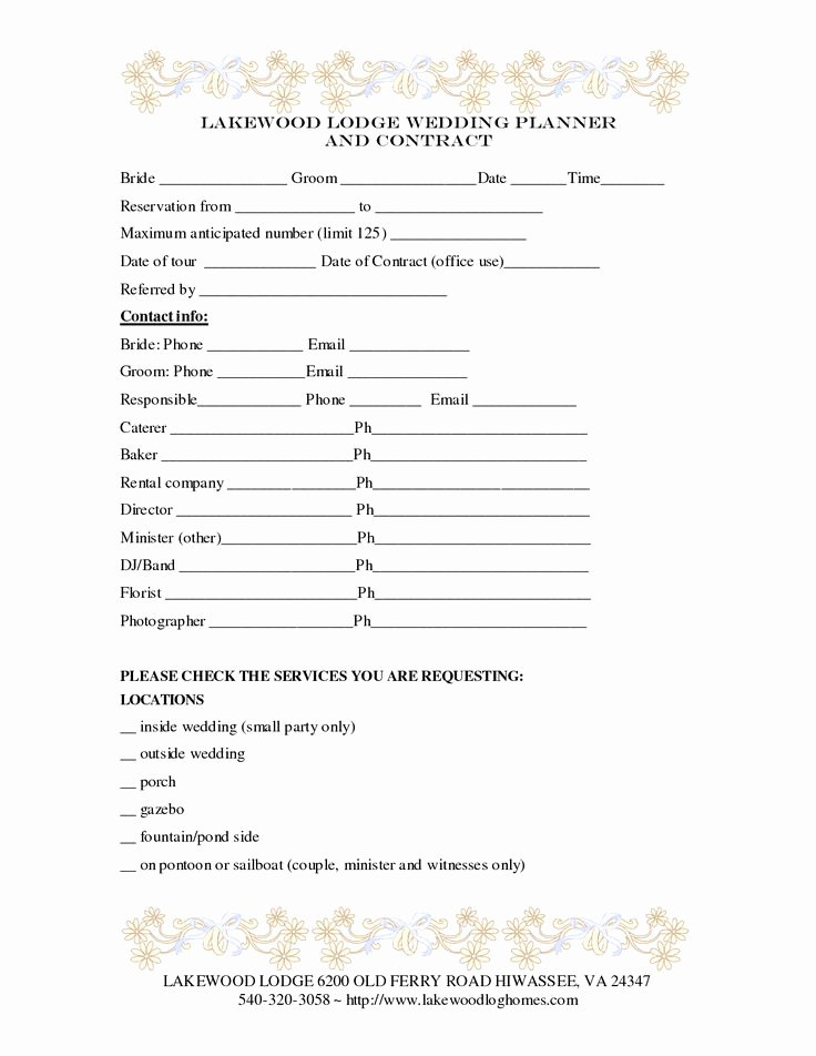 Party Planner Contract Template Unique 1000 Images About event Planning On Pinterest