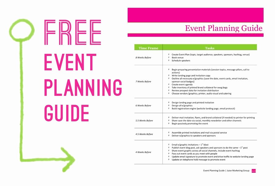 Party Planning Template Free Lovely Free event Planning Template Via Juice Marketing Group