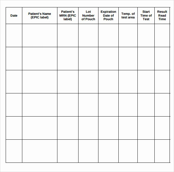 Patient Sign In Sheet Template Beautiful Sample Medical Sign In Sheet 7 Documents In Pdf Word