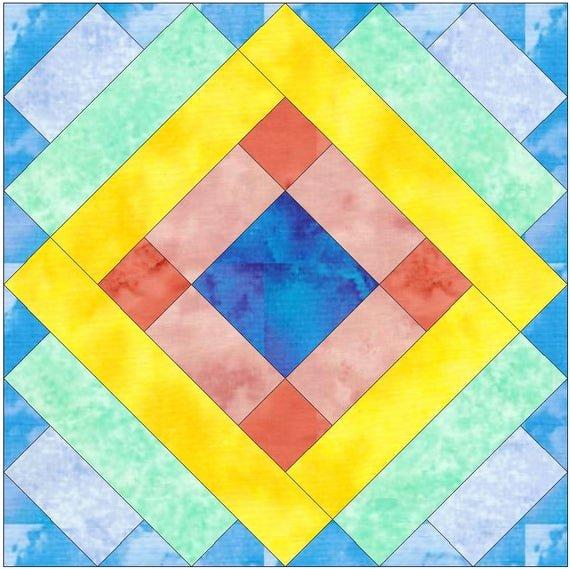 Pattern Block Templates Pdf Awesome Album Paper Template Quilting Block Pattern Pdf