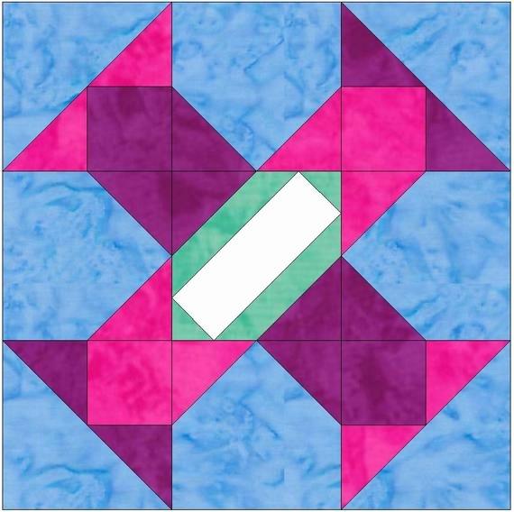 Pattern Block Templates Pdf Beautiful Album Blocks 15 Inch Block Set Of 4 Paper Piece Template