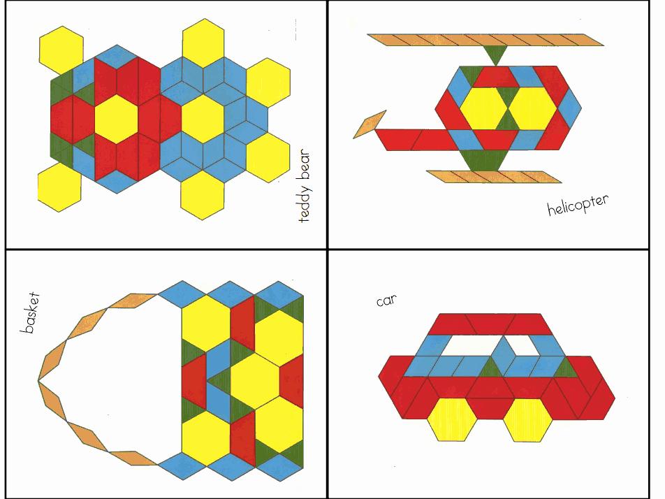 Pattern Block Templates Pdf Beautiful Pattern Blocks 2 Pdf Puzzle