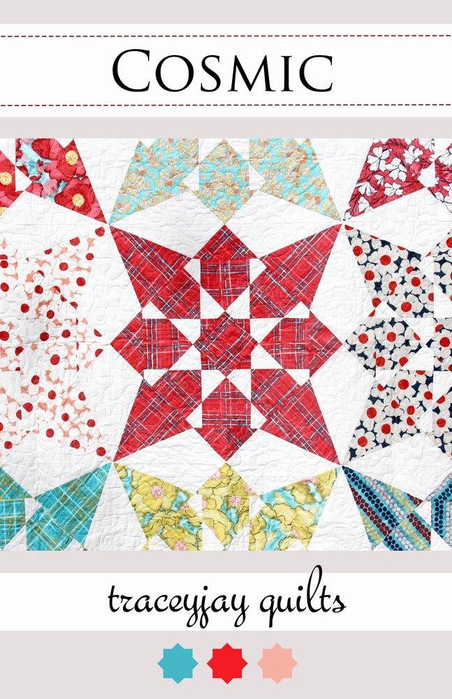 Pattern Block Templates Pdf Elegant Traceyjay Quilts — Cosmic Pdf Quilt Pattern