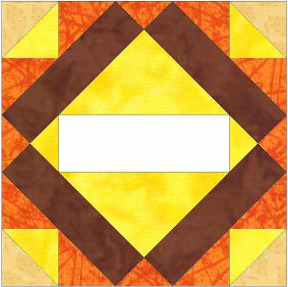 Pattern Block Templates Pdf Lovely Album Block 2 Paper Template Quilting Block Pattern Pdf