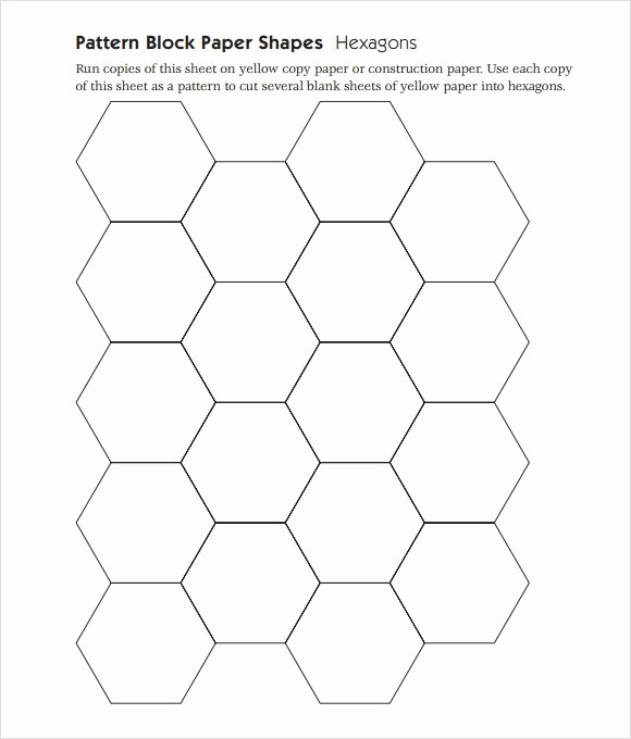Pattern Block Templates Pdf New Pattern Block Templates