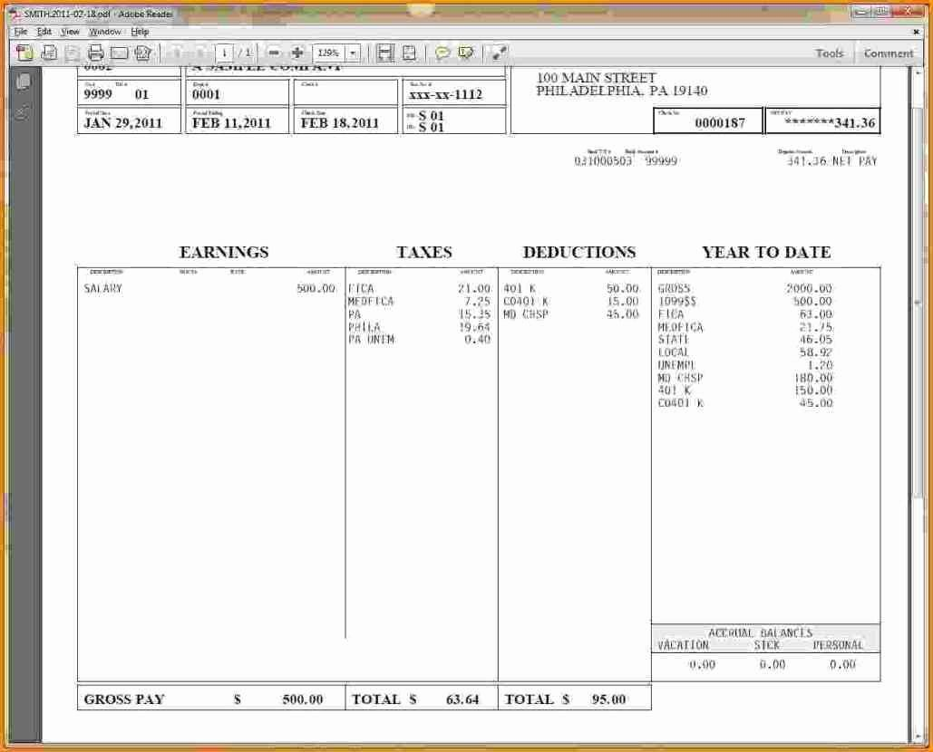 Pay Stub Template Word Lovely Hourly Wage then Log Pay Stub Template Word Free