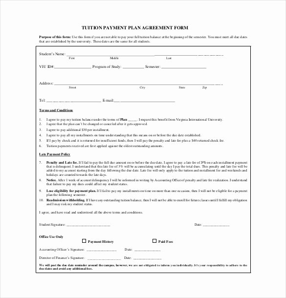 Payment Plan Agreement Template New 22 Payment Agreement Templates Word Pdf Google Docs