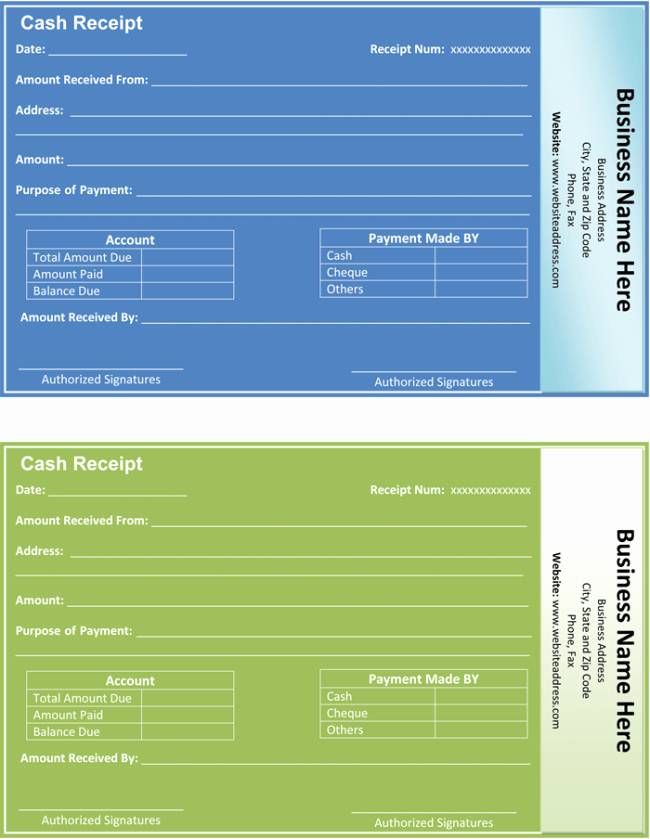 Payment Receipt Template Word Fresh Payment Receipt Template 5 Quick Receipt Maker formats