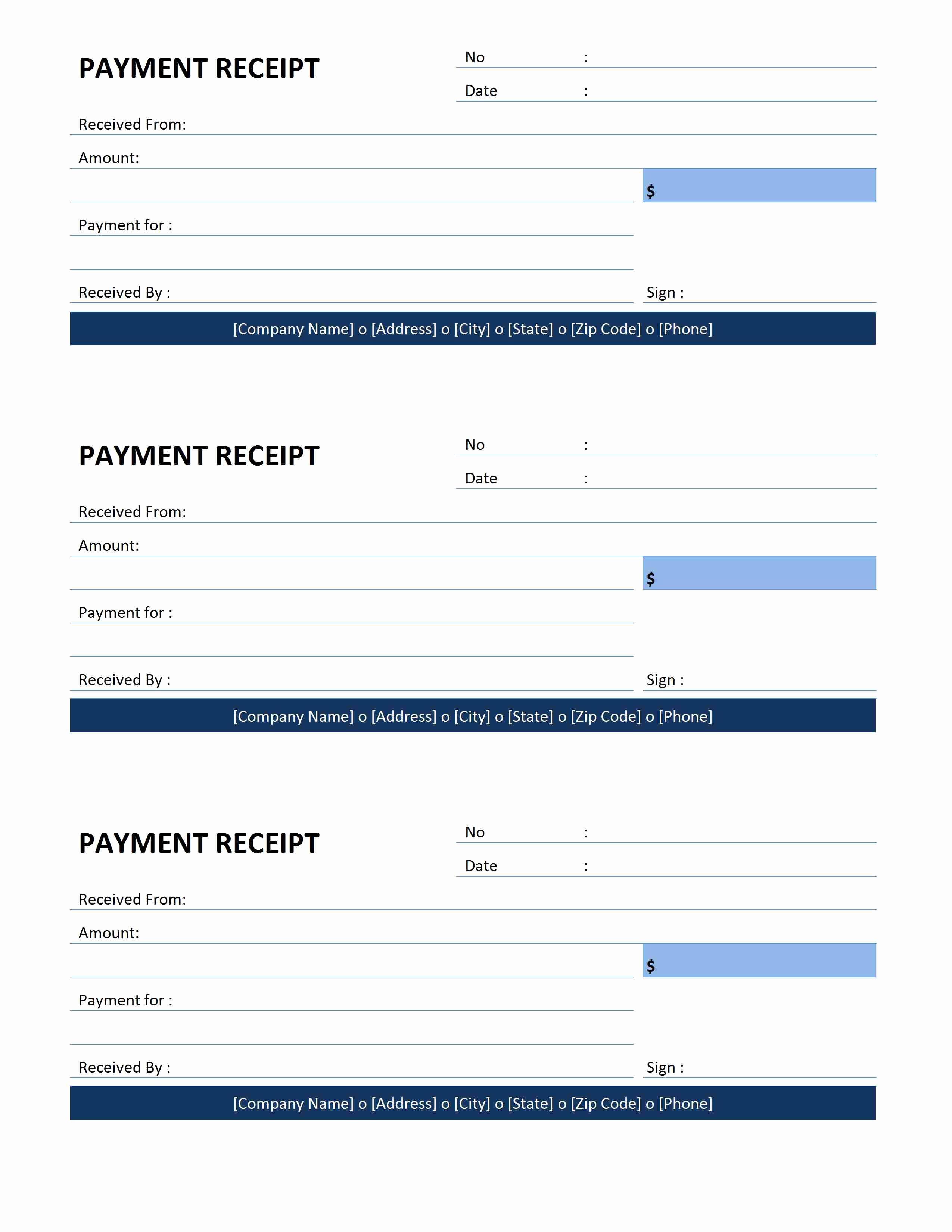 Payment Receipt Template Word Lovely Payment Receipt