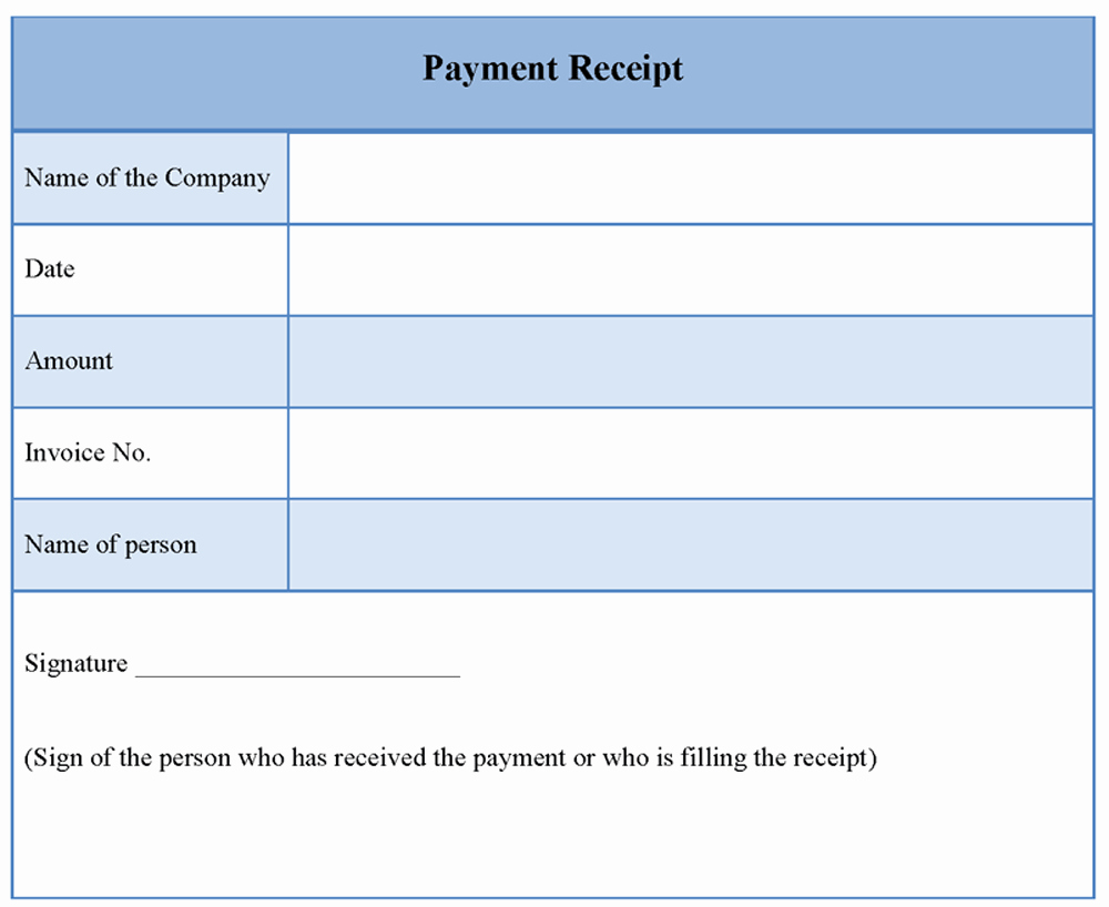 Payment Receipt Template Word Lovely Receipt Payment Template Word