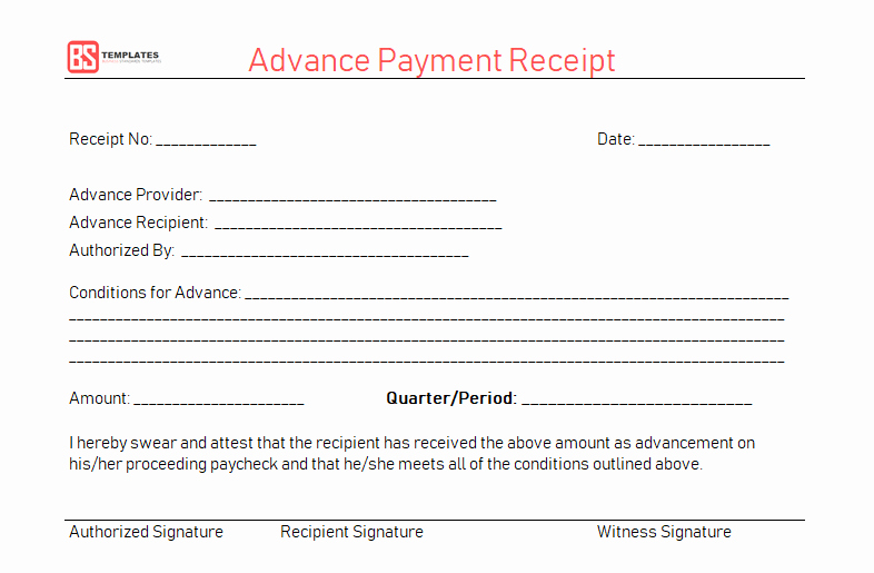Payment Receipt Template Word New Payment Receipt Template – Free Simple Word Excel