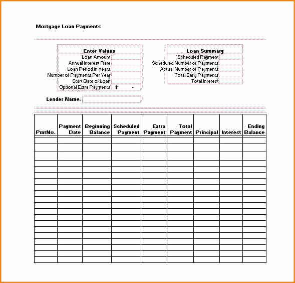 Payment Schedule Template Excel Lovely 15 Payment Plan Template Word