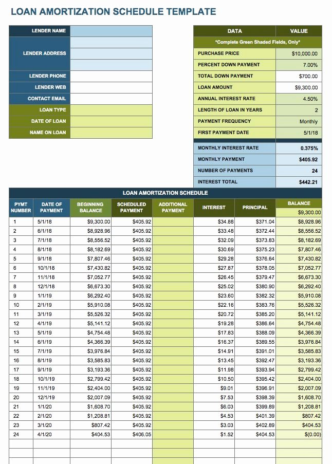 Payment Schedule Template Excel Luxury Microsoft Excel Payment Schedule Template Surfinter