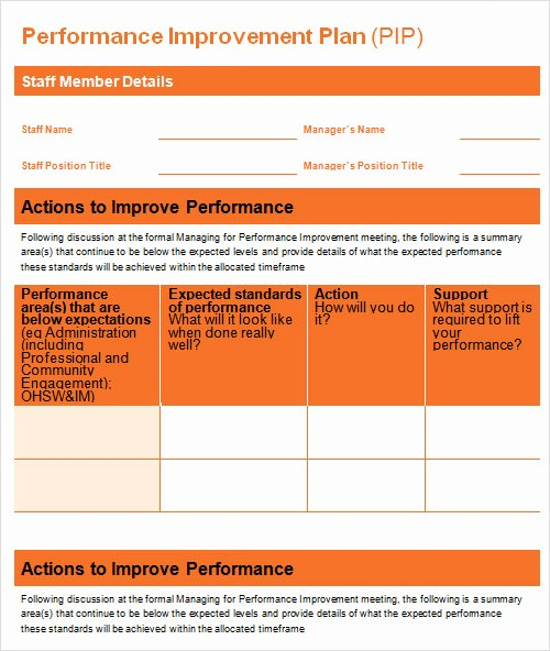 Performance Improvement Plan Template Word Awesome Sample Plan Template 26 Download Free Documents In Pdf