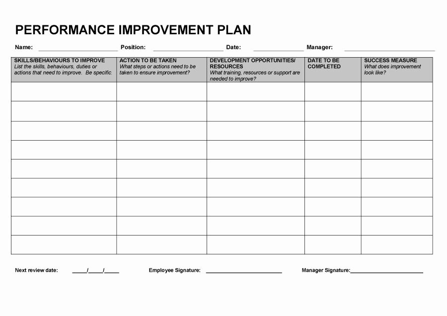 Personal Action Plan Template New Action Plan Improve Customer Service Template