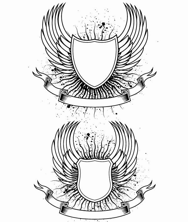 Personal Coat Of Arms Template Elegant Shield Drawing Template at Getdrawings
