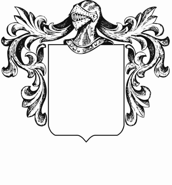 Personal Coat Of Arms Template Fresh Blank Family Crest Template Cliparts