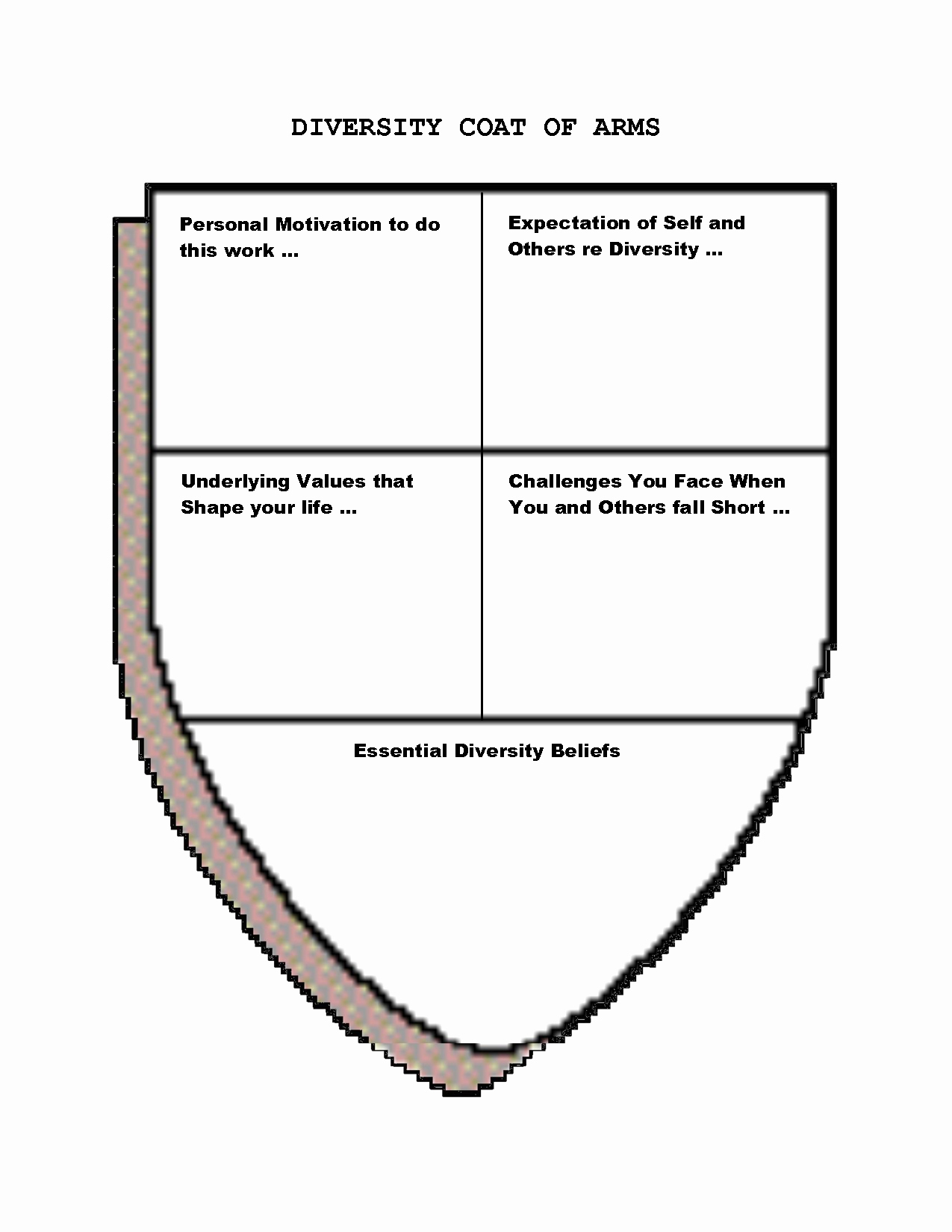 Personal Coat Of Arms Template New Coat Arms Template