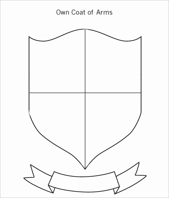 Personal Coat Of Arms Template New Coat Of Arms Template 12 Download In Pdf Psd Eps