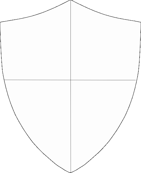 Personal Coat Of Arms Template New Free Baseball Stencil