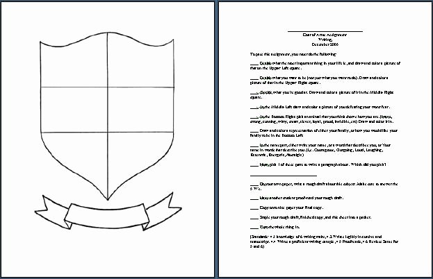Personal Coat Of Arms Template Unique Coat Of Arms Graphic Class Coat Of Arms