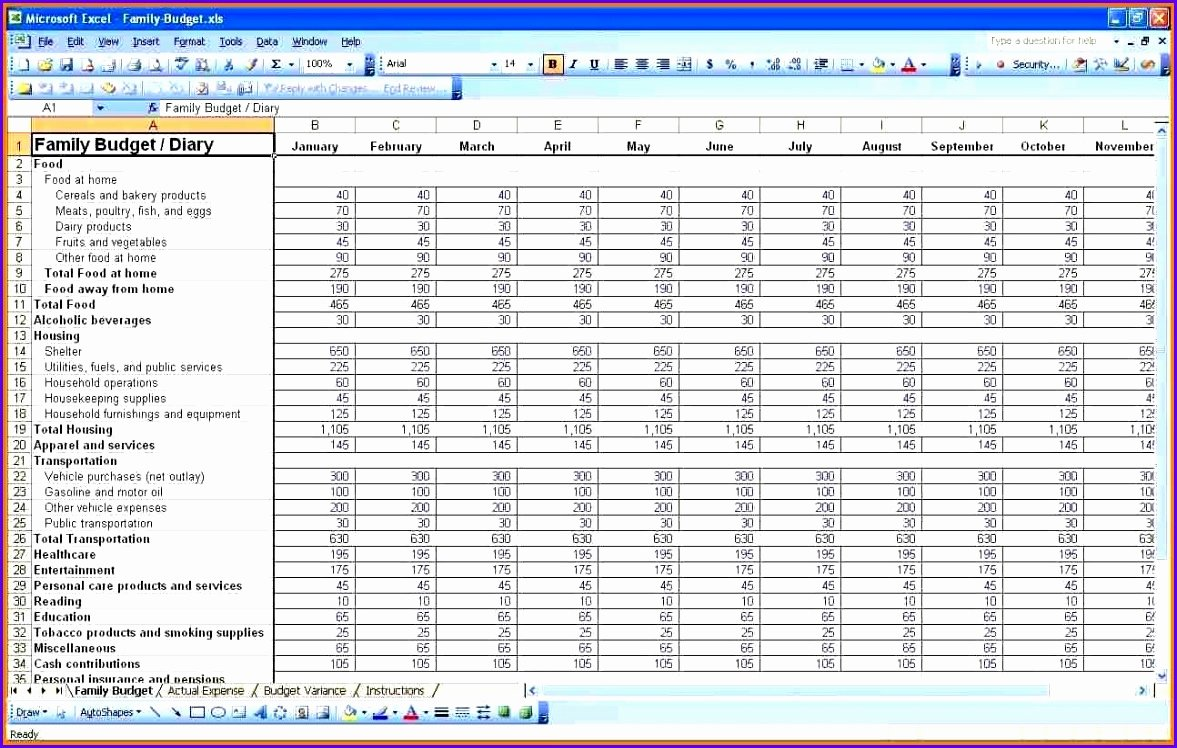 Personal Finance Plan Template Fresh 8 Expenses Template Excel Exceltemplates Exceltemplates