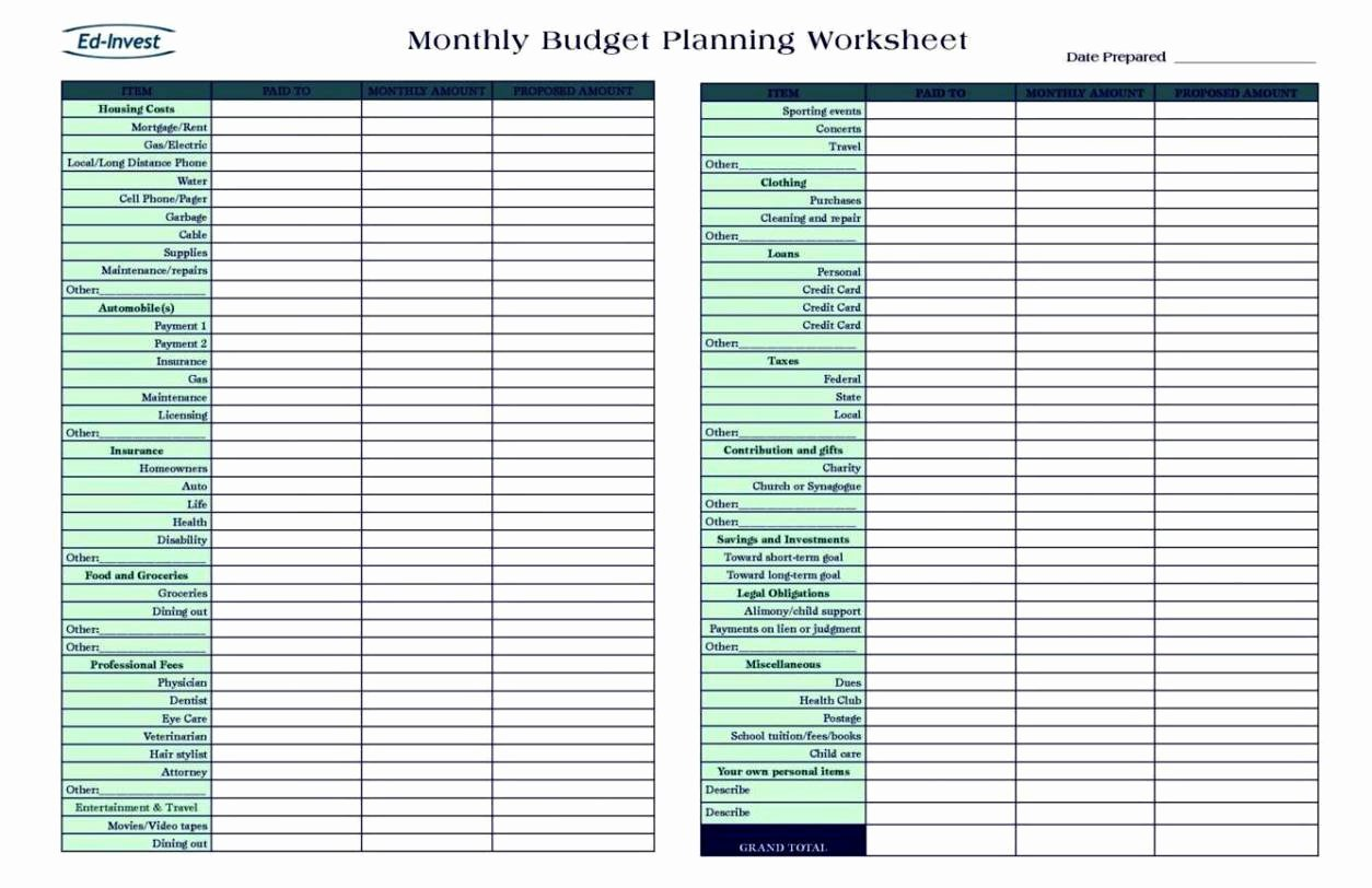 Personal Financial Plan Template Best Of Personal Financial Planning Template Free