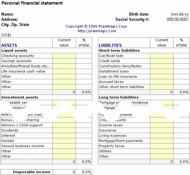 Personal Financial Plan Template Elegant Line Business Plan Bonus tools