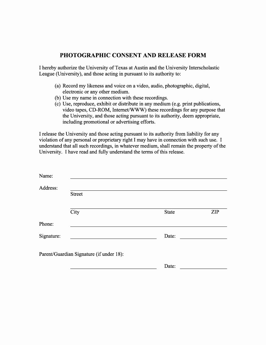 Personal Property Release form Template Unique 53 Free Release form Templates [word Pdf