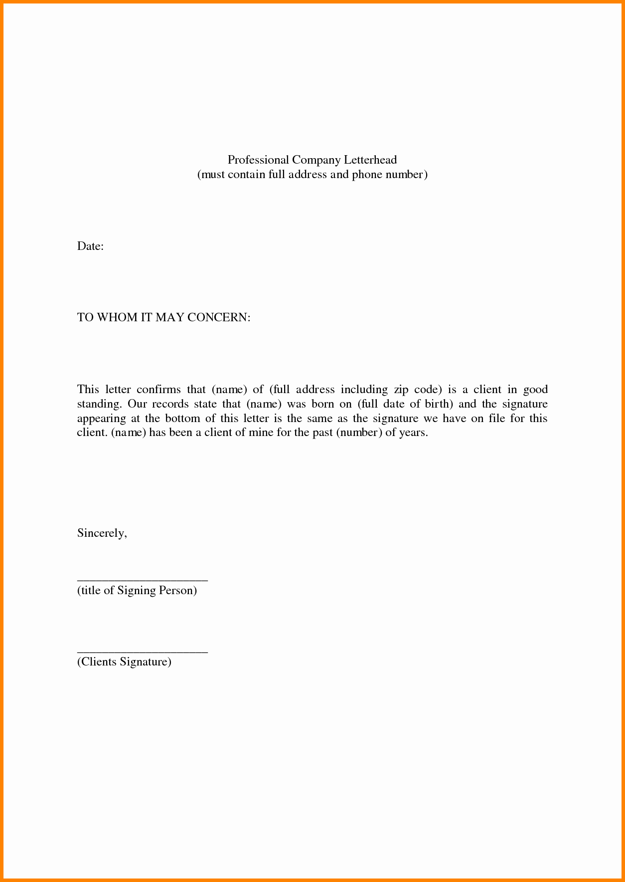 Personal Reference Letter Template Inspirational Personal Reference Letter Template