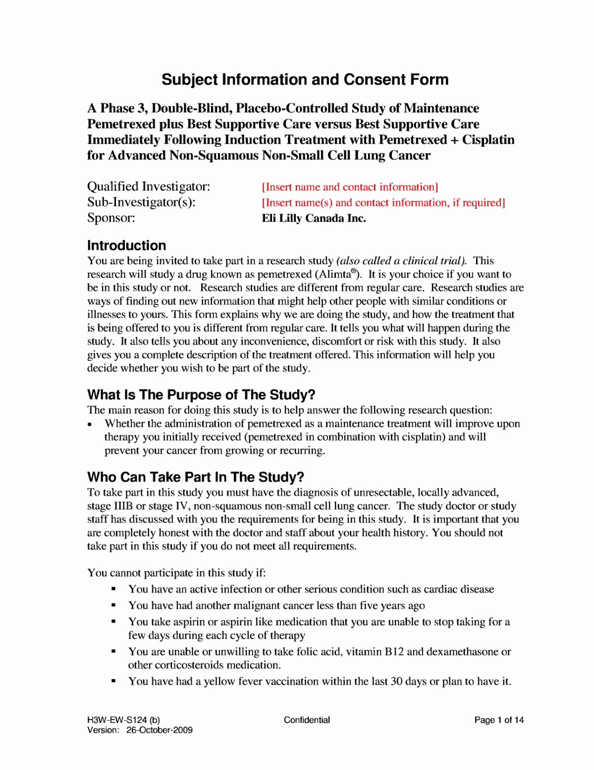 Photo Consent form Template Unique Informed Consent