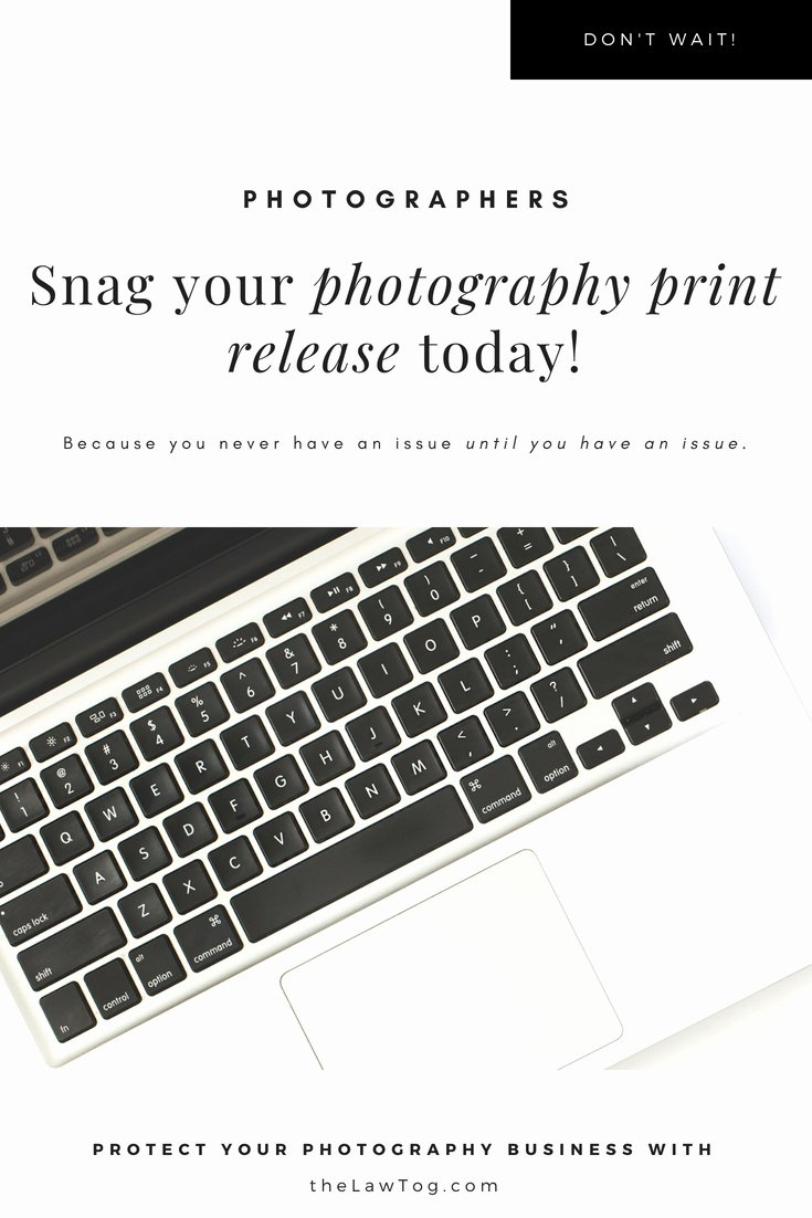 Photo Print Release form Template Elegant Photo Release Template