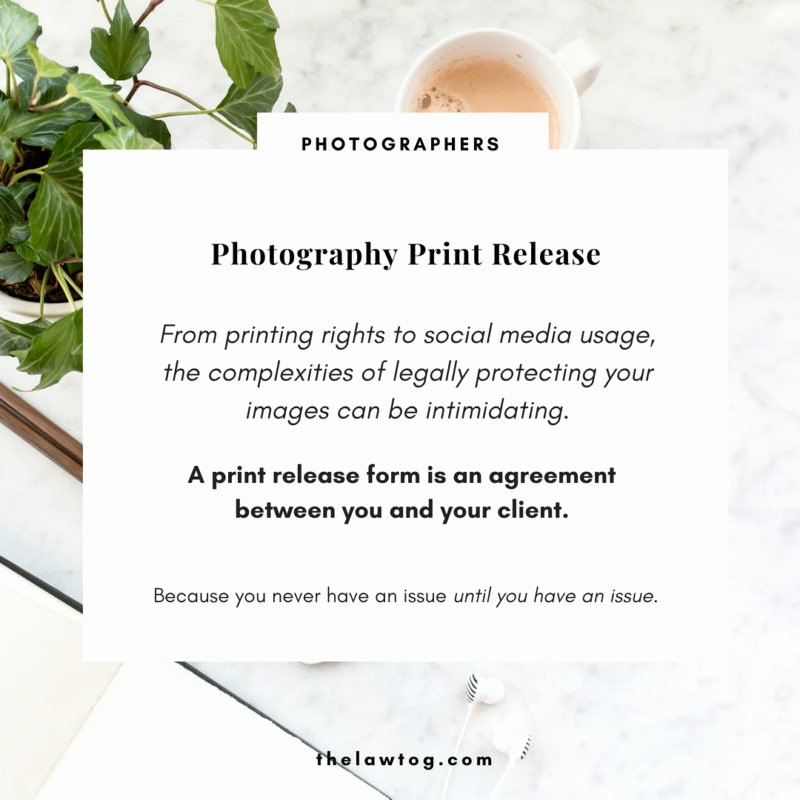 Photo Print Release form Template Elegant Printable Release forms