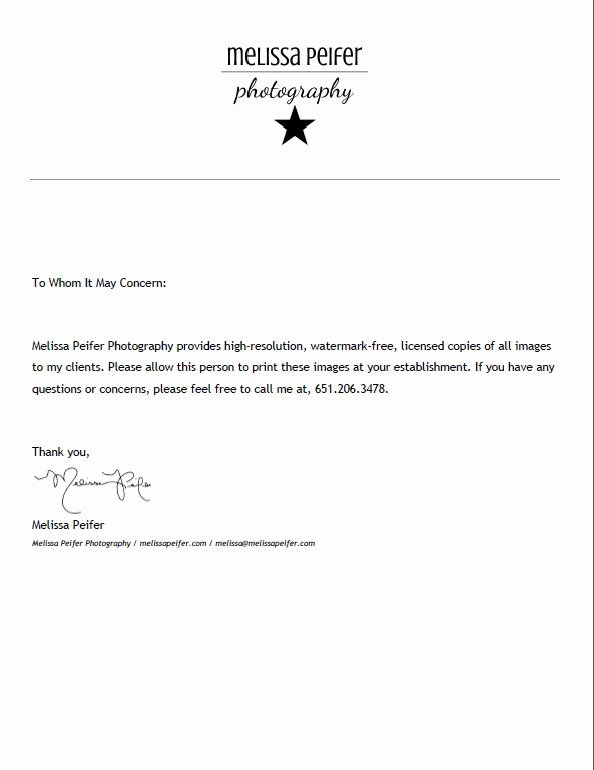 Photo Print Release form Template Luxury Print Release form Graphy