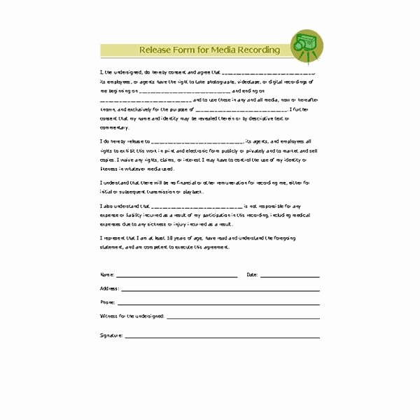 Photo Print Release form Template Unique where to Find Graphy Business forms Free Line