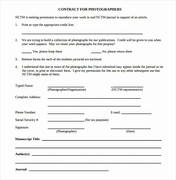 Photography Contract Template Pdf Luxury 22 Graphy Contract Templates – Word Pdf Apple