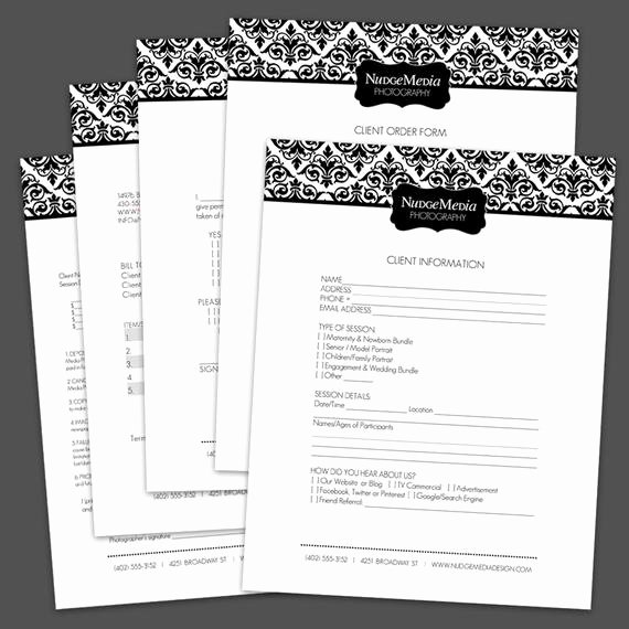 Photography order form Template Free Elegant Graphy Business forms 5 Critical by Lauriecosgrovedesign