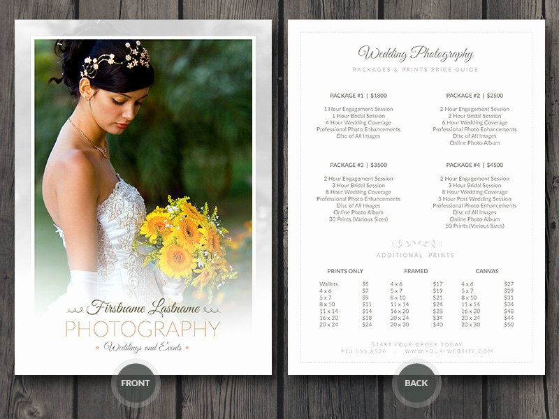 Photography Price List Template Word Awesome Free Business Card Credit Card with Hand Mockup Template