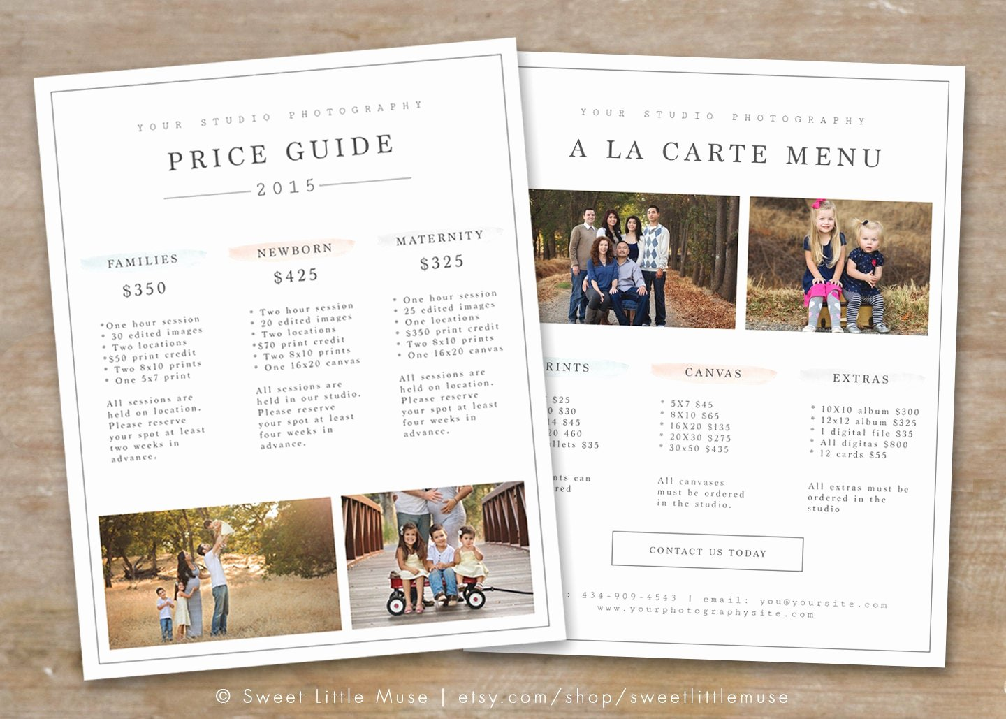 Photography Price List Template Word Best Of Graphy Price List Template Graphy Pricing Guide