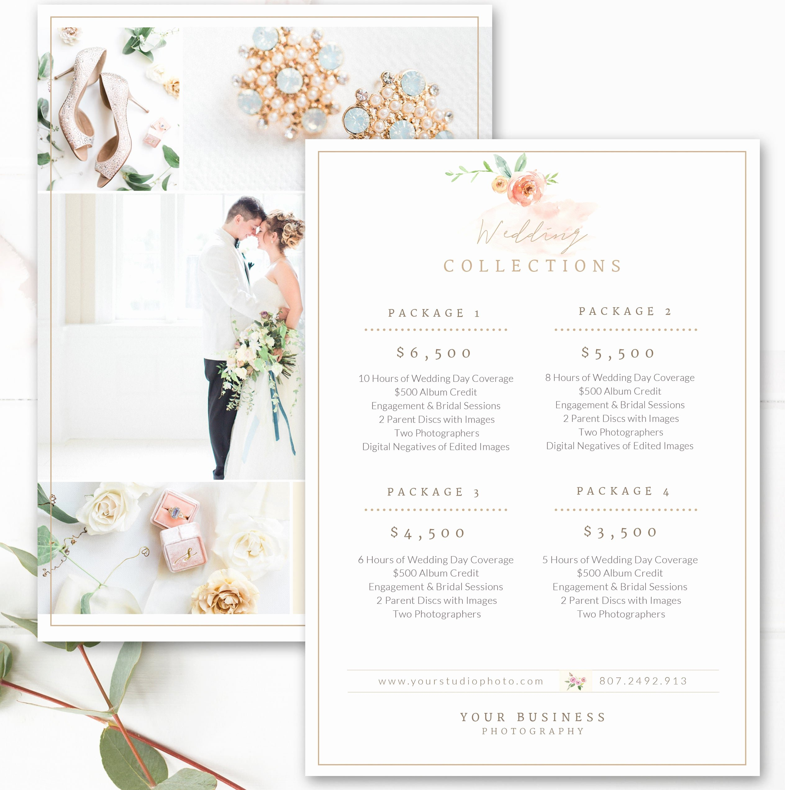 Photography Price List Template Word Unique Graphy Price List Template Wedding Price Sheet