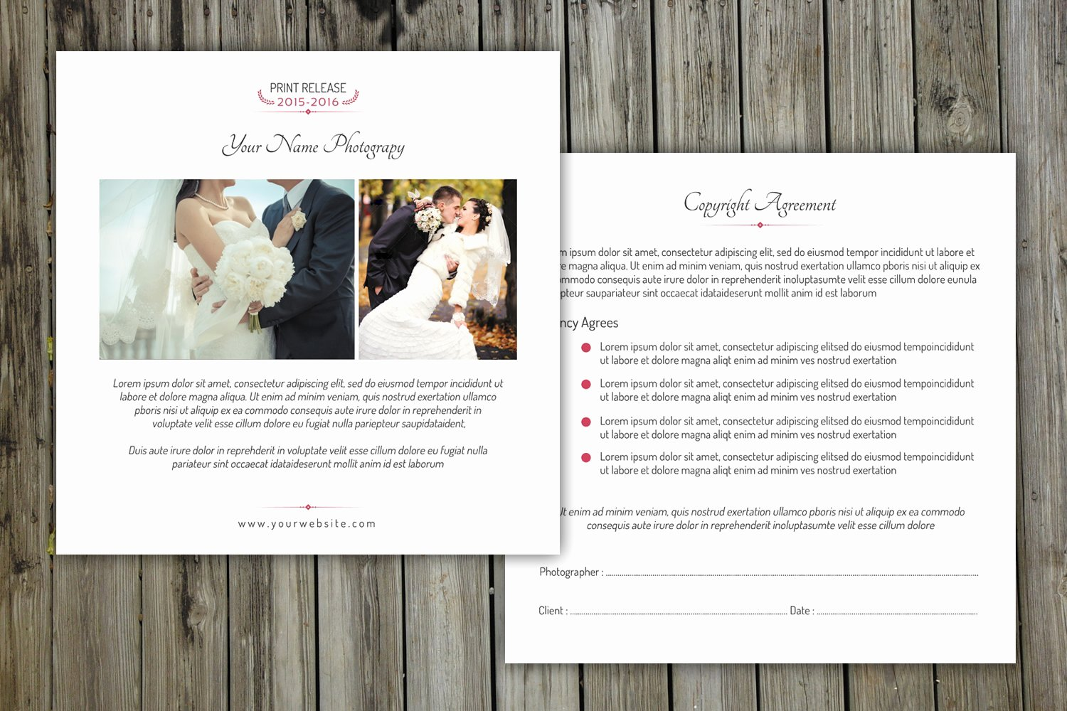 Photography Print Release form Template Lovely Grapher Print Release form V145 Flyer Templates