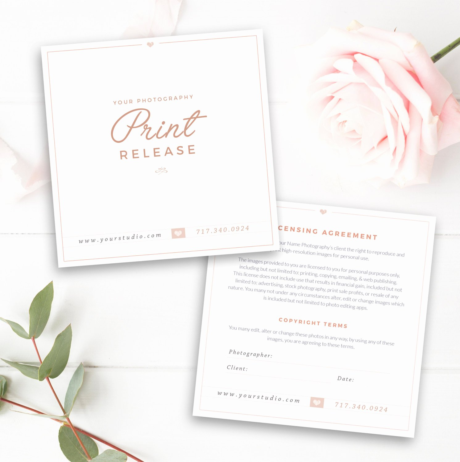 Photography Print Release Template New Graphy Print Release Template Graphy form Template