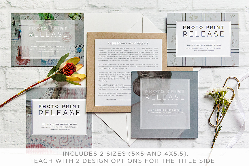 Photography Print Release Template New Professional Graphy Print Release Template Design Aglow