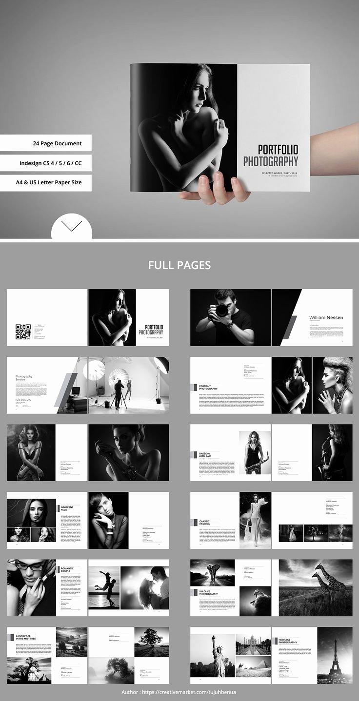 Photography Shot List Template Unique Portfolio Book Brochures Book Template