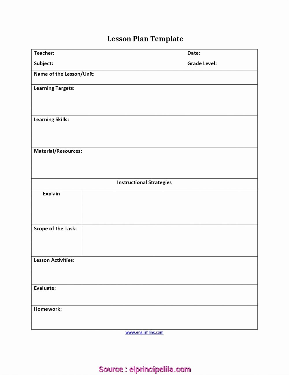 Physical Education Lesson Plan Template New 6 Professional Physical Education Lesson Plans Doc S