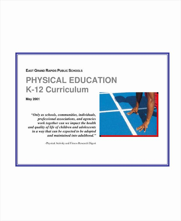 Physical Education Lesson Plans Template Elegant 7 Physical Education Lesson Plan Templates Pdf Word